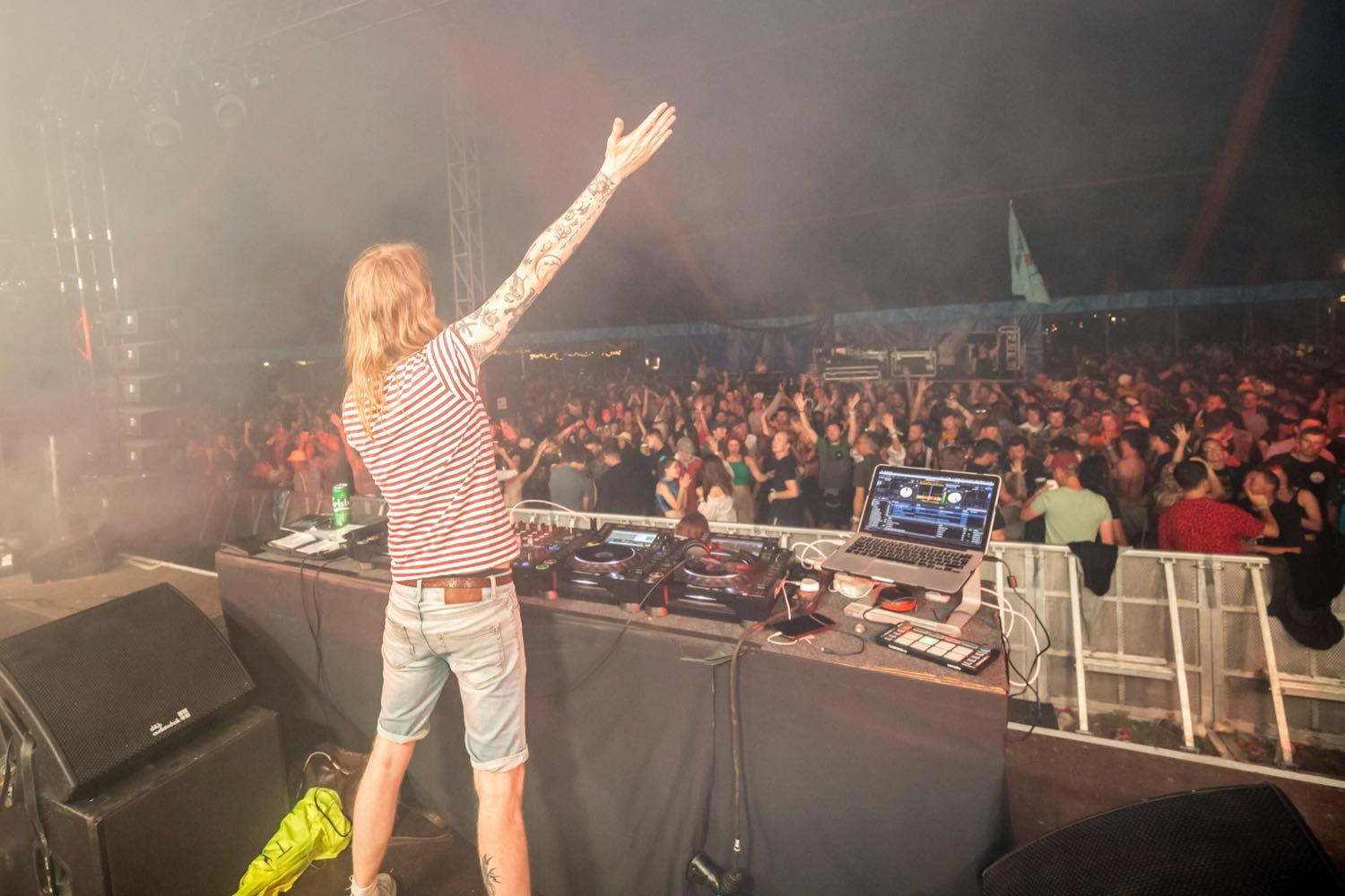 Buttoned Down Disco Glastonbury Williams Green Stage Indie Dance Party