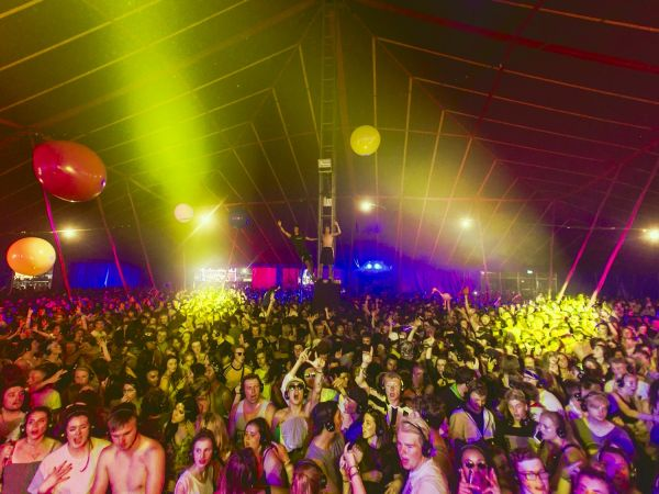 Buttoned Down Disco at Reading Festival Indie Dance Party